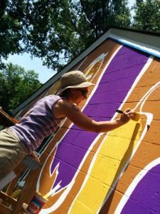 rachel tayse baillieul painting mural wall