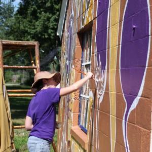 sarah hout muralist