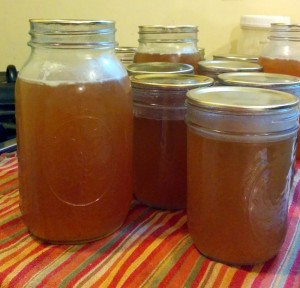 what to do when canning jars leaked