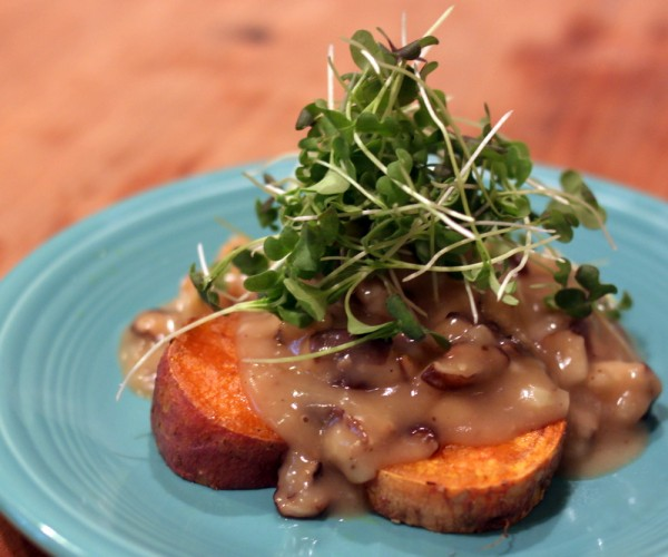 mushroom gravy video recipe