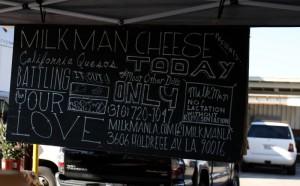 milkman cheeses