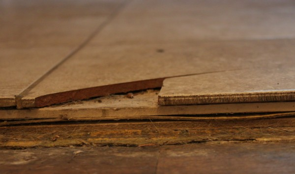 layers of flooring