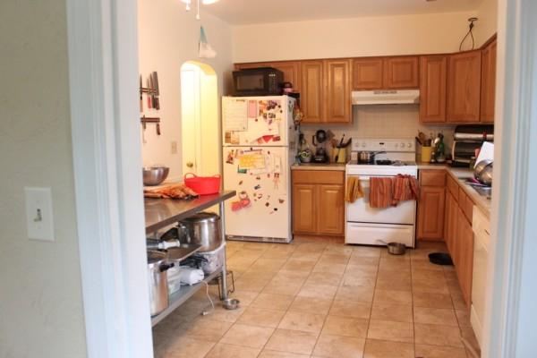 dysfunctional kitchen