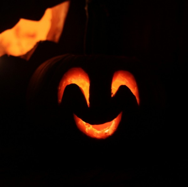 smiling pumpkin