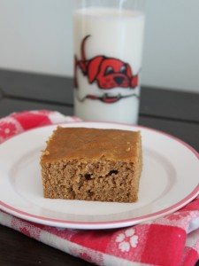 easy healthy snack cake recipe