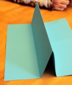 make a paper book folds