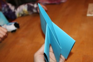make a paper book - fold pages together