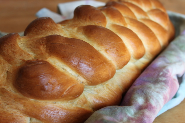challah braided loaf recipe