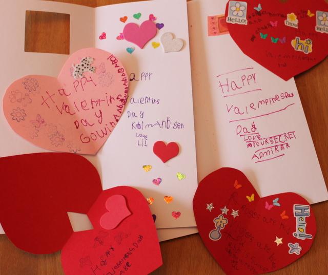 handmade kindergarten valentines
