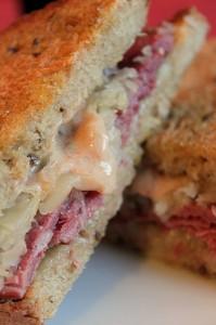 homemade reuben sandwich charcutepalooza