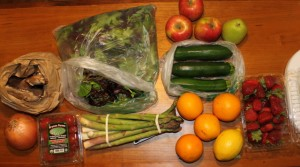 green b.e.a.n. delivery produce
