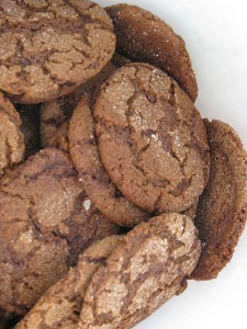 grandma's ginger snaps recipe