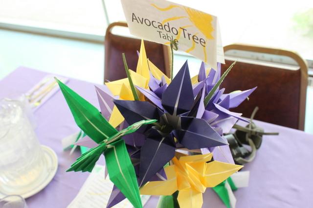 handmade origami bouquet