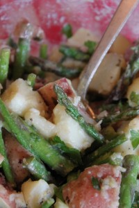 asparagus potato salad recipe