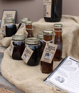 simply gourmet syrups at new albany market
