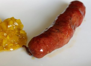 funky hotdog