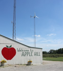 apple hill orchard barn lexington ohio