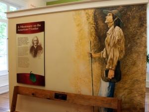 johnny chapman diplay at urbana museum