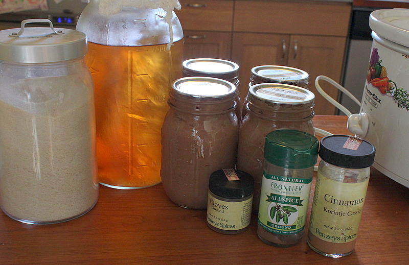 ingredients for apple butter recipe