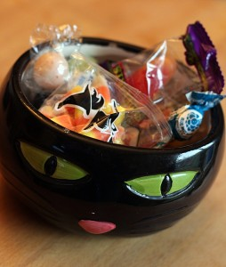 halloween candy junk food attack