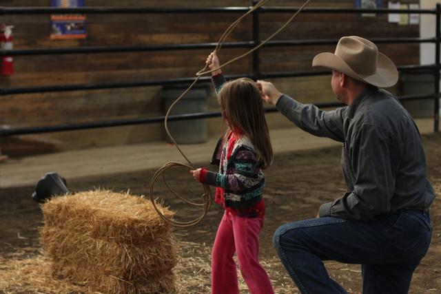 practice calf roping