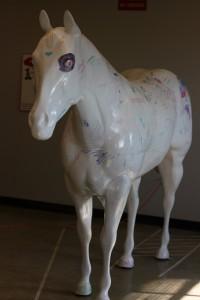 graffiti horse osu