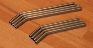homemade stainless steel straws