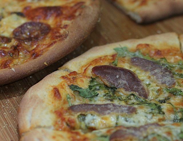 duck prosciutto pizza recipe