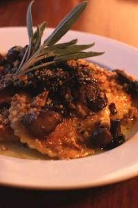 murphin squash ravioli