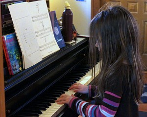 unschooling piano learning