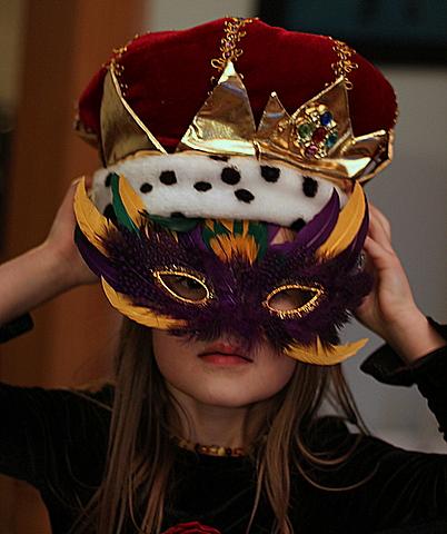mardi gras masked Lil