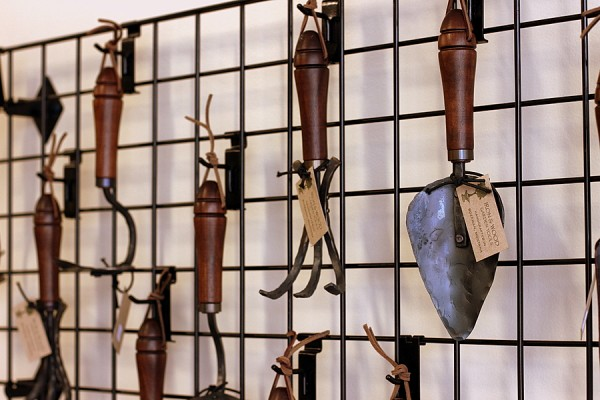 handmade tools at city folk's farm