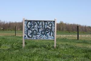 giving garden sign stratford