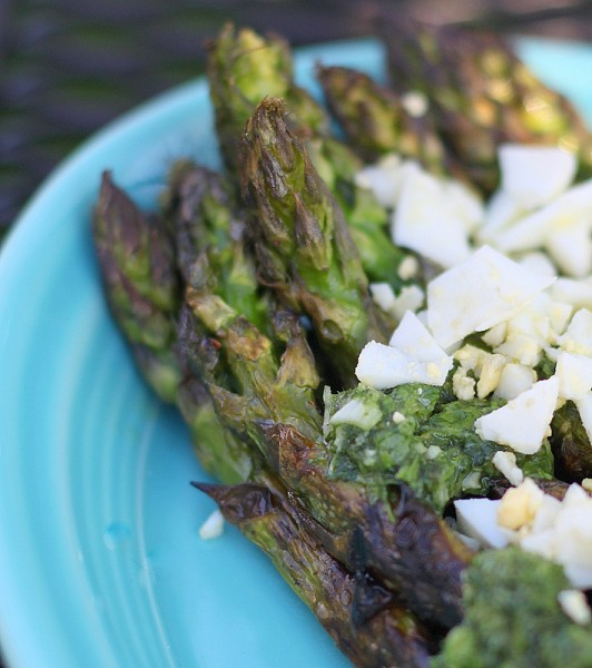 asparagus chimichurri recipe