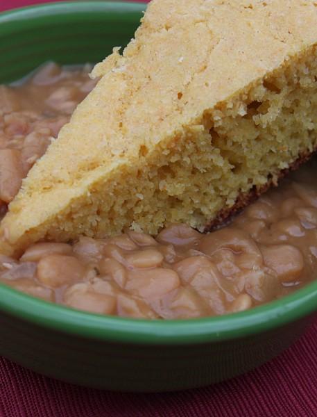 cornbread and butter beans recipe