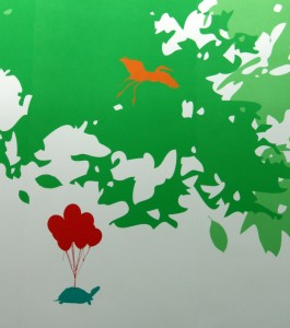 mural in magical forest nationwide childrens