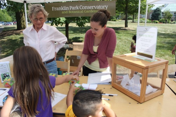 franklin park info stand