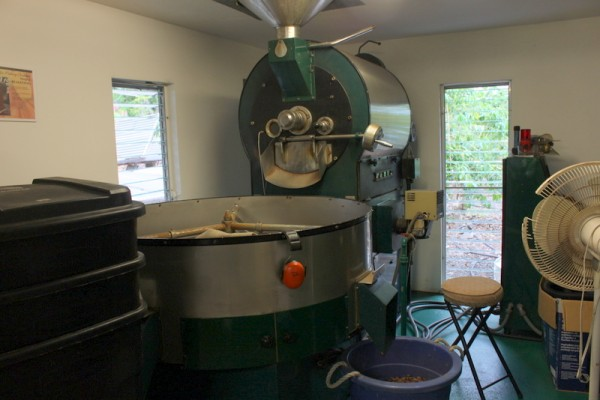 cacao roasting machine