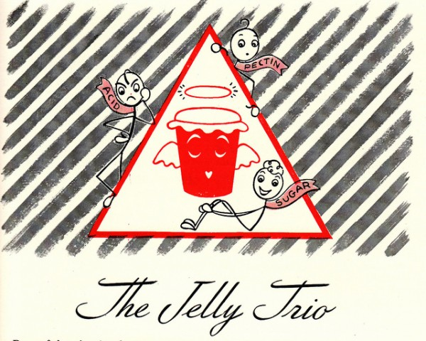 general foods corporation 1945 jelly trio