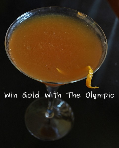 the olympic cocktail recipe