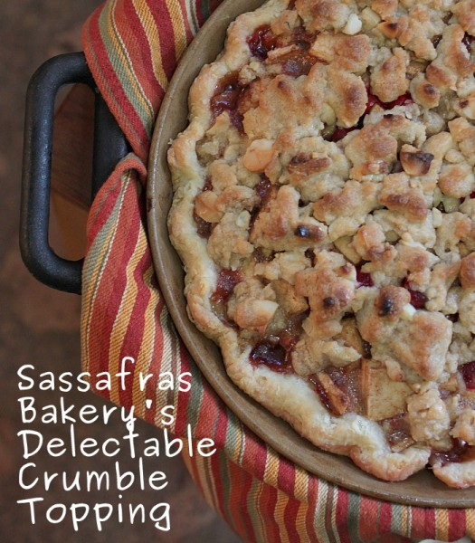 sassafras bakery crumble topping recipe