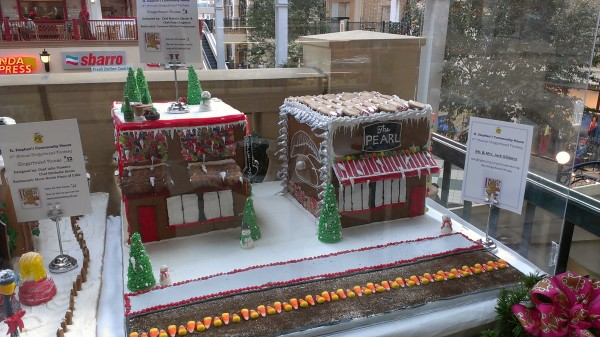 The Pearl gingerbread house