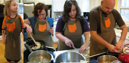 some of my favorite people in a madebyamyd apron
