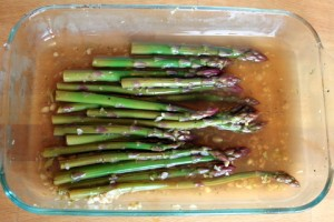 marinated asparagus for relish