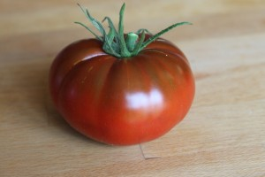 cherokee chocolate heirloom tomato