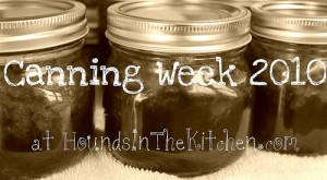 canning and jam making advice 2010