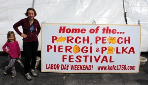 perch peach pierogi polka festival