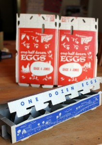 vintage egg carton images