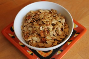 roasted pumpkin seeds recipe