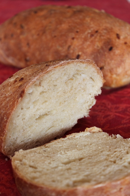 no knead cooked bread